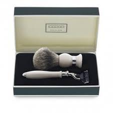 dalvey shaving set ivory da767 fendess