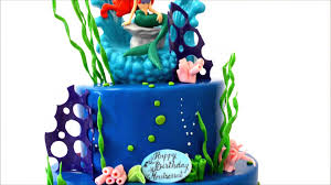 ariel disney princess theme cake mermaid cake youtube