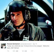 Independence Day Movie Meme - independence day 2 cast news bill pullman and judd hirsch
