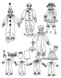 clown costume simplicity 2849 clown costumes