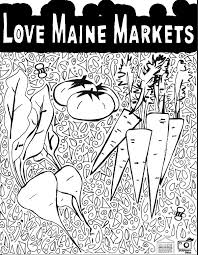 elephant love coloring page maine farmers market coloring pages maine federation of farmers