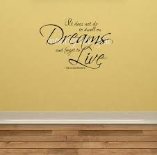 harry potter wall decal it does not do to dwell on dreams zoom