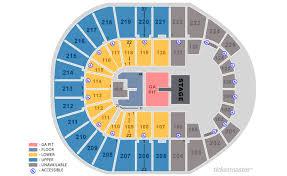 Ticketmaster Floor Plan Verizon Arena North Little Rock Tickets Schedule Seating