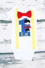 1st birthday onesie baby boy baby themed birthday onesie and
