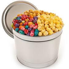 festive favorites popcorn tin by kingofpop