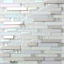 Steel Tile Backsplash by Iridescent Glass Diamond Metal Stainless Steel Mosaic Tile Backsplash