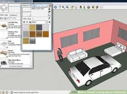 Floor Plan In Sketchup How To Create A Living Space In Sketchup 9 Steps With Pictures