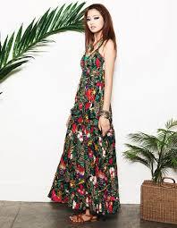 dam maxi bí quyết diện váy maxi chuẩn nhất thời trang zing vn