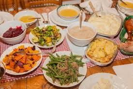 thanksgiving the majority of dishes inraditional american