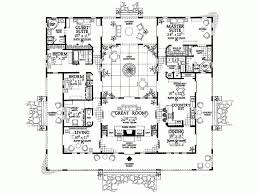 center courtyard house plans hacienda style courtyard house plans hacienda