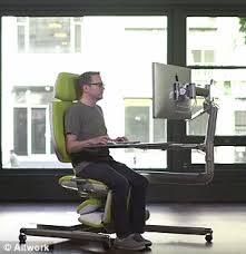 Exercise Upside Down Chair Flexible Altwork Station Lets You Sit Stand And Even Lie Down As