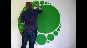 Wall Paint Designs Timelapse Circle Fractal Wall Painting Youtube