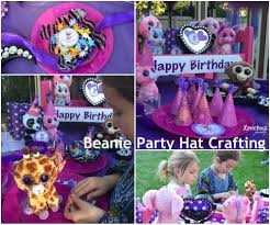 beanie boo birthday party ideas dancing beanie boos beanie