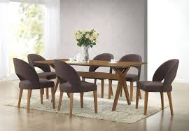 Dining Room Chairs On Casters by Dining Room Dining Chairs With Casters Real Leather Dining