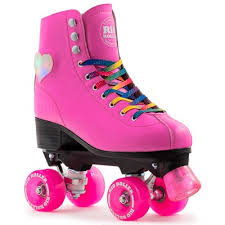 roller skates with flashing lights rio roller figure boot pink with flashing heart light skates unlimited