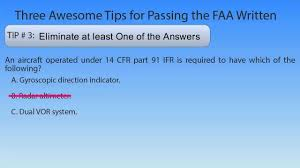 best afoqt study guide 3 tips to help you pass the aviation knowledge test youtube