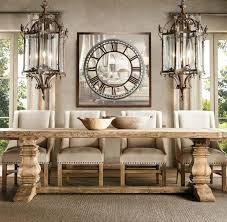 Lighting For Dining Room Table Best 25 Restoration Hardware Table Ideas On Pinterest Painted