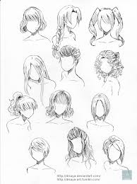 hair reference 2 by disaya draw hair for your characters