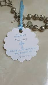 baptism favor tags personalized favor tags 2 baptism tags thank you tags favor