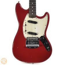 fender mustang guitar fender mustang dakota 1966 reverb