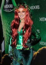 Green Ivy Halloween Costume Poison Ivy Celebrities Wearing Halloween Costumes