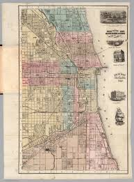 L Map Chicago by Guide Map Of Chicago 1867 David Rumsey Historical Map Collection