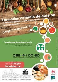 offre d emploi commis de cuisine formation pour demandeurs d emploi commis de cuisine