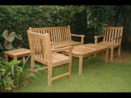 stylish wooden patio furniture 25 best ideas about outdoor wood