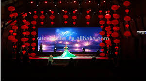 wedding backdrop led indoor rental led display live show wall rental led