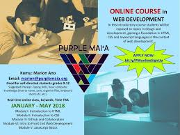 html online class apply now for pilot online course purple maiʻa