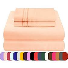 amazon com mezzati luxury bed sheets set sale best softest