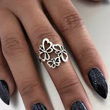 online get cheap amethyst butterfly sterling sterling butterfly ring indigoandjade com pinterest