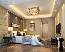 beige fur rug on the laminate wooden floor luxury master bedroom