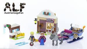 Disney Princess Home Decor by Lego Disney Princess Anna Kristoffs Sleigh Adventure Speed Build
