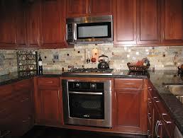 kitchen backsplash cherry cabinets kitchen glamorous kitchen backsplash cherry cabinets black