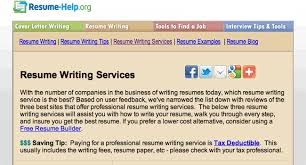 Resume Writing Services Reviews Resume Service Reviews Resume Service Review Com