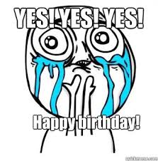 Yes Meme Face - meme face happy birthday image memes at relatably com