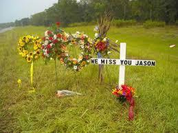 roadside memorial crosses roadside memorial jason edward posluszny online memorial website