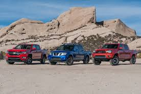 comparison chevrolet colorado vs nissan frontier vs toyota tacoma