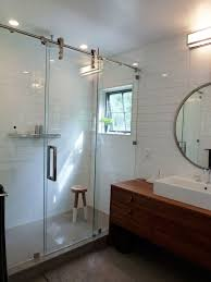 bathroom shower doors ideas sliding barn door for bathroom sliding barn door for bathroom privacy