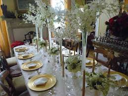 white and gold christmas table decorations cheminee website