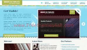 jquery website template