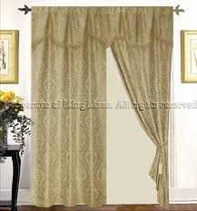 Gold Curtain Tassels Imperial Gold Curtains W Valance Tassels Sheers