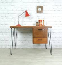 vintage hairpin table legs vintage desk google search projects hairpin leg desk teak