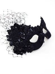 black masquerade masks for women luxury black embellished lace masquerade mask