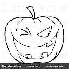 halloween pumpkin clipart 224009 illustration by hit toon