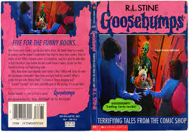 the horrors of halloween goosebumps halloween horror book covers