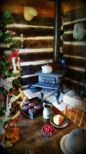 an old fashioned log cabin christmas at happy days farm happy
