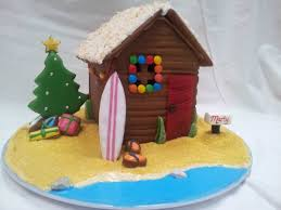 aussy themed gingerbread house gingerbread houses