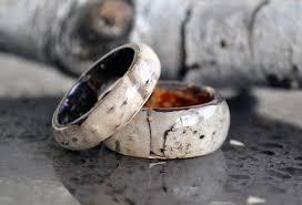 natural rings images Real birch bark ring natural ring birch wood rings natural jpg